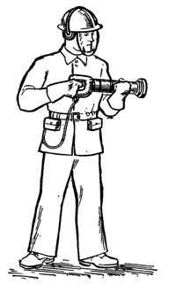 Оснащение оператора поршневого монтажного пистолета