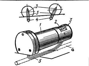 Определение местонахождения стальной арматуры с помощью арматуроискателя