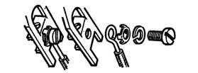 Подсоединение провода к выводу счетчика