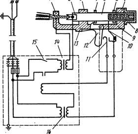 Соединение алюминиевых жил электросваркой с помощью аппарата В КЗ-1