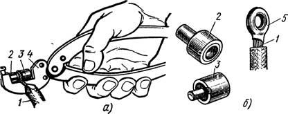 Обжатие кольцевого наконечника