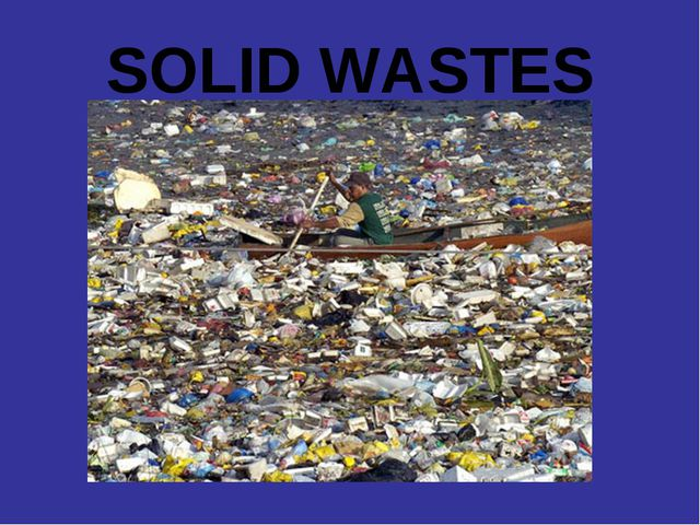 SOLID WASTES