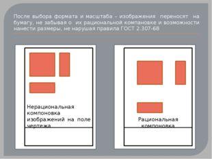 После выбора формата и масштаба – изображения переносят на бумагу, не забыва
