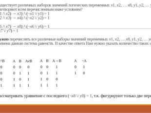 23. Сколько существует различных наборов значений логических переменных x1, x