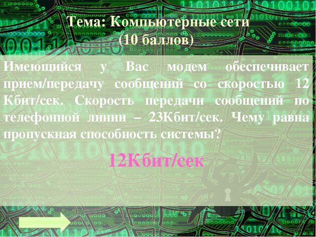 Тема: Электронные таблицы (7 баллов) Сколько составляет минимальная ячейка па...