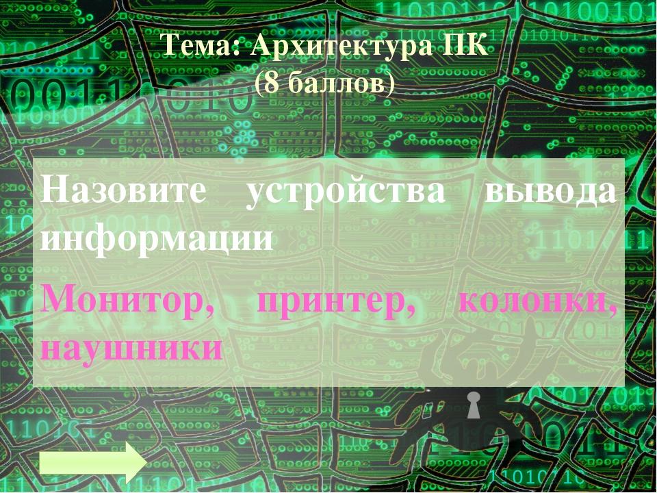 Тема: Программное обеспечение (5 баллов) Операционная система – это … набор п...