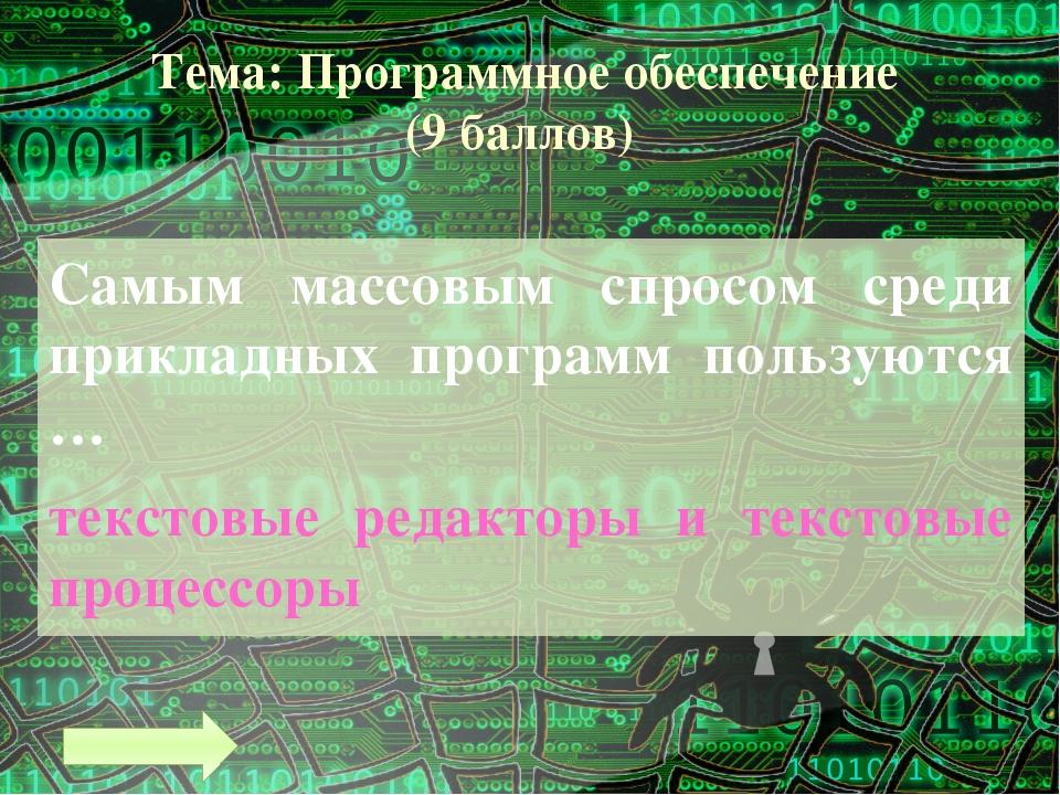 Тема: Текстовая информация (6 баллов) Какое слово закодировано? 0110011001101...