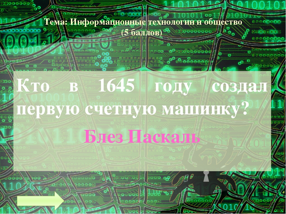 Тема: Информационные технологии и общество (9 баллов) Совокупность способов и...