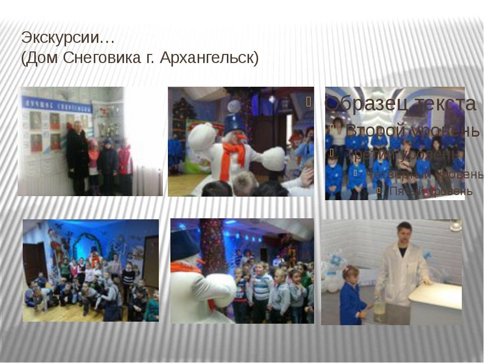 Экскурсии… (Дом Снеговика г. Архангельск)