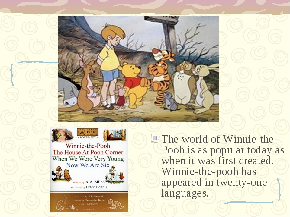 The world of Winnie-the-Pooh is as popular today as when it was first create...