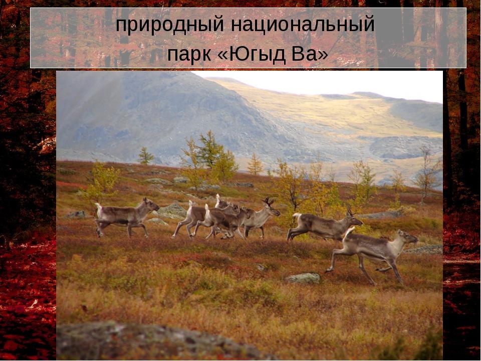 природный национальный парк «Югыд Ва»