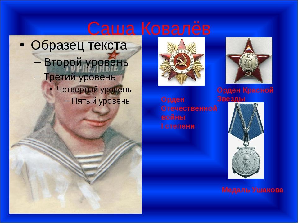Саша Ковалёв Орден Отечественной войны I степени Орден Красной Звезды Медаль...