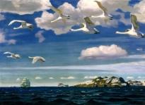А. Рылов - В голубом просторе