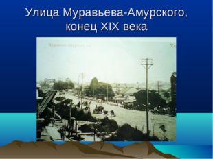 Улица Муравьева-Амурского, конец XIX века