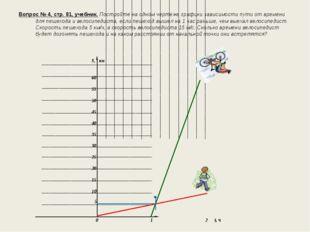 Вопрос № 4, стр. 81, учебник. Постройте на одном чертеже графики зависимости