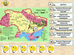 Донбасс Львовско-Волынский каменноугольный бассейн Карпатская нефтегазоносная