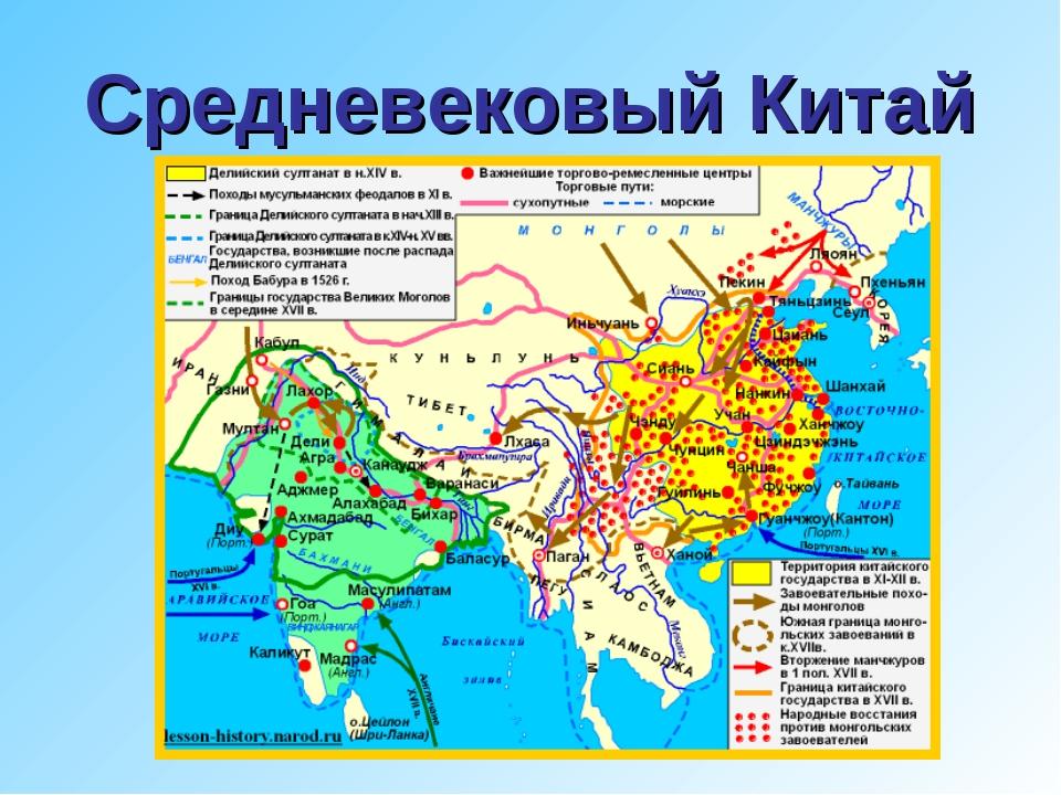 Средневековый Китай