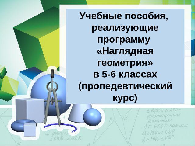 Учебные пособия, реализующие программу «Наглядная геометрия» в 5-6 классах (п...