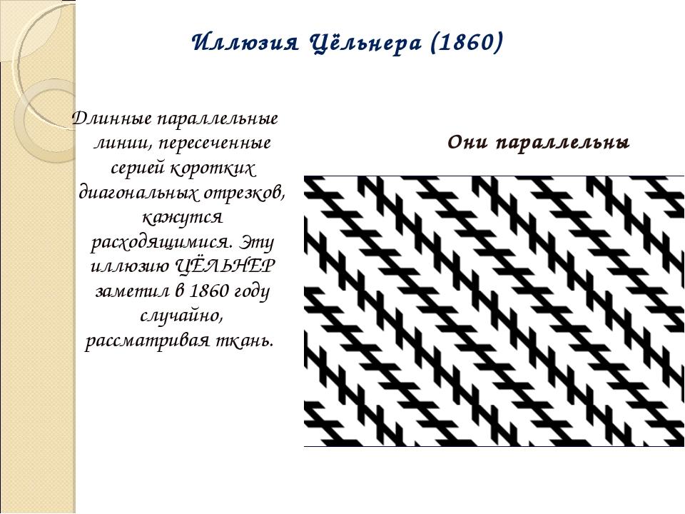 Длинные параллельные линии, пересеченные серией коротких диагональных отрезк...