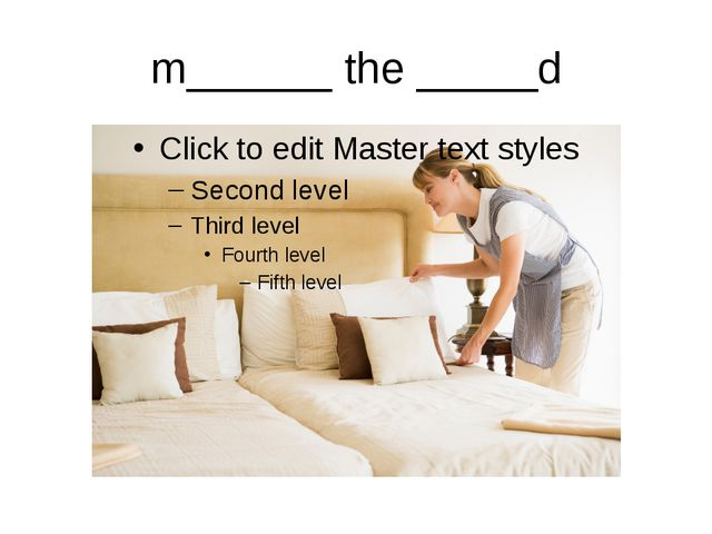 m______ the _____d