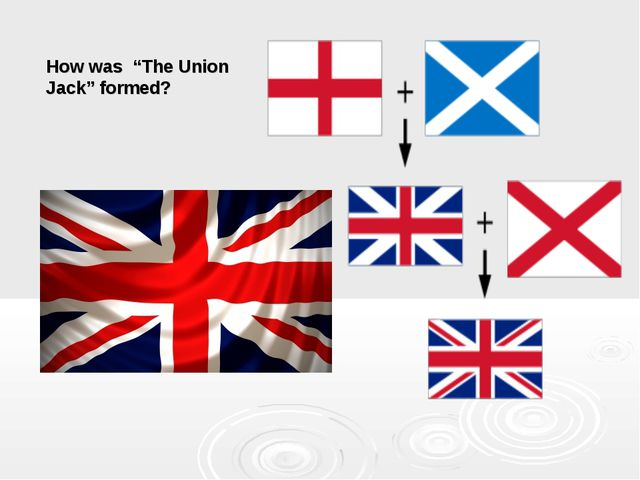 """How was """"The Union Jack"""" formed?"""