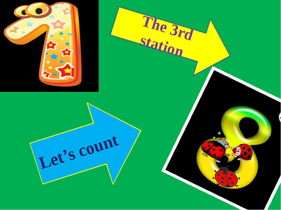 The 3rd station Let's count