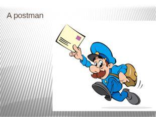 A postman