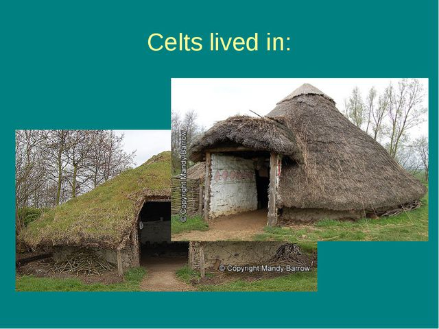 Celts lived in: