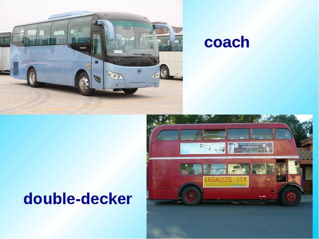 double-decker coach