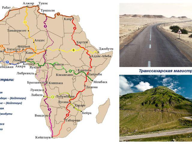 Транссахарская магистраль