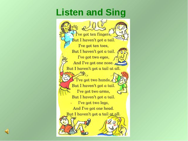 Listen and Sing
