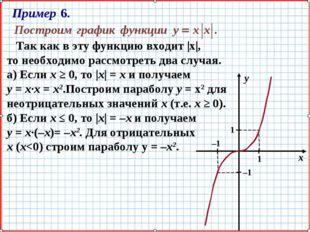 Так как в эту функцию входит |х|, то необходимо рассмотреть два случая. а) Е