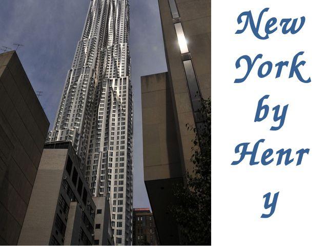 New York by Henry