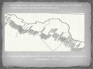 От деревни Тырышкина до Крутологово было 20 верст, от Крутологова до Овчинни