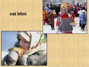 eat blini