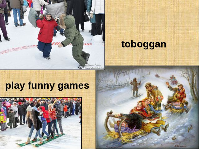 toboggan play funny games