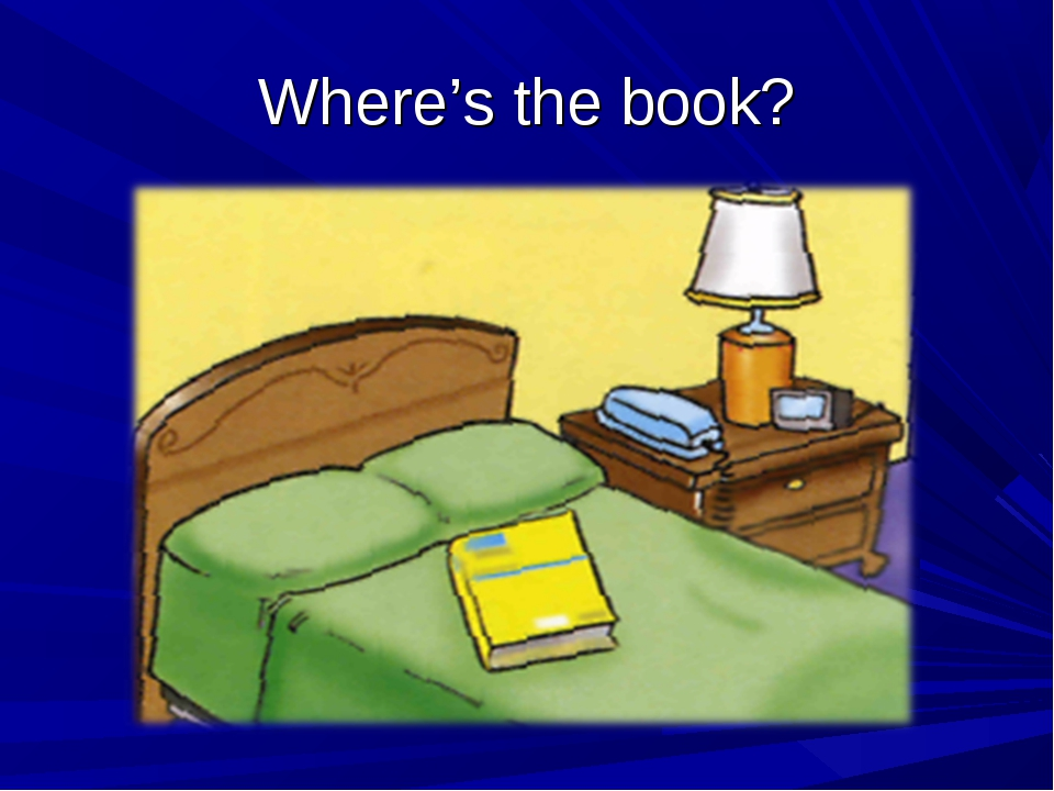 Where's the book?