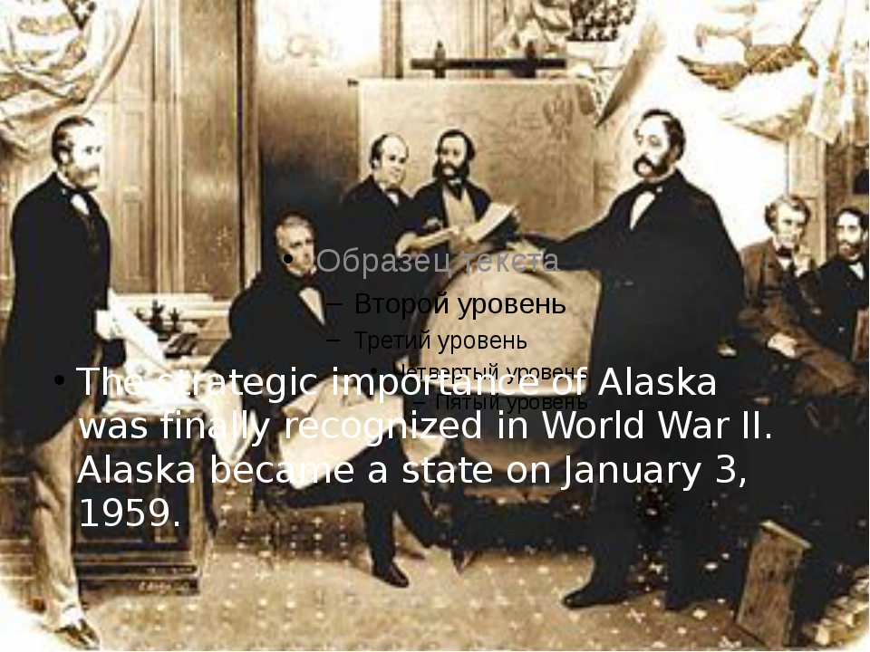 The strategic importance of Alaska was finally recognized in World War II. Al...