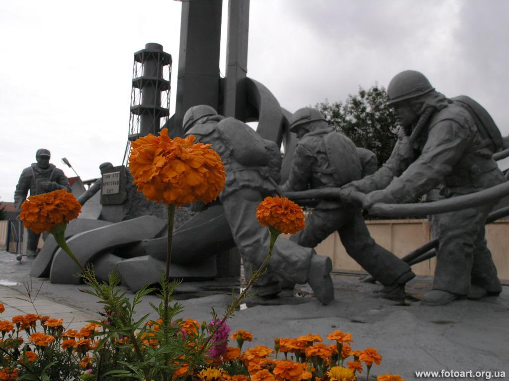 Это фотографии пожарников чернобыля погибших деятельности
