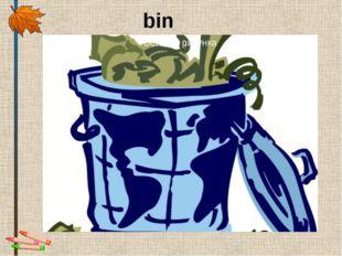 bin Надпись
