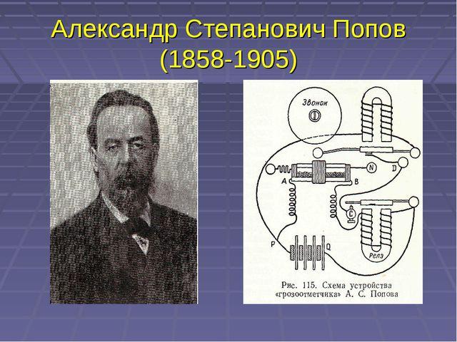 Александр Степанович Попов (1858-1905)