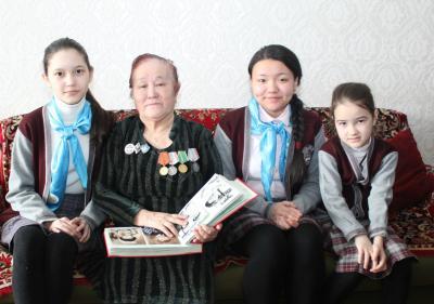 В гостях у ветеранов Великой Отечественной войны