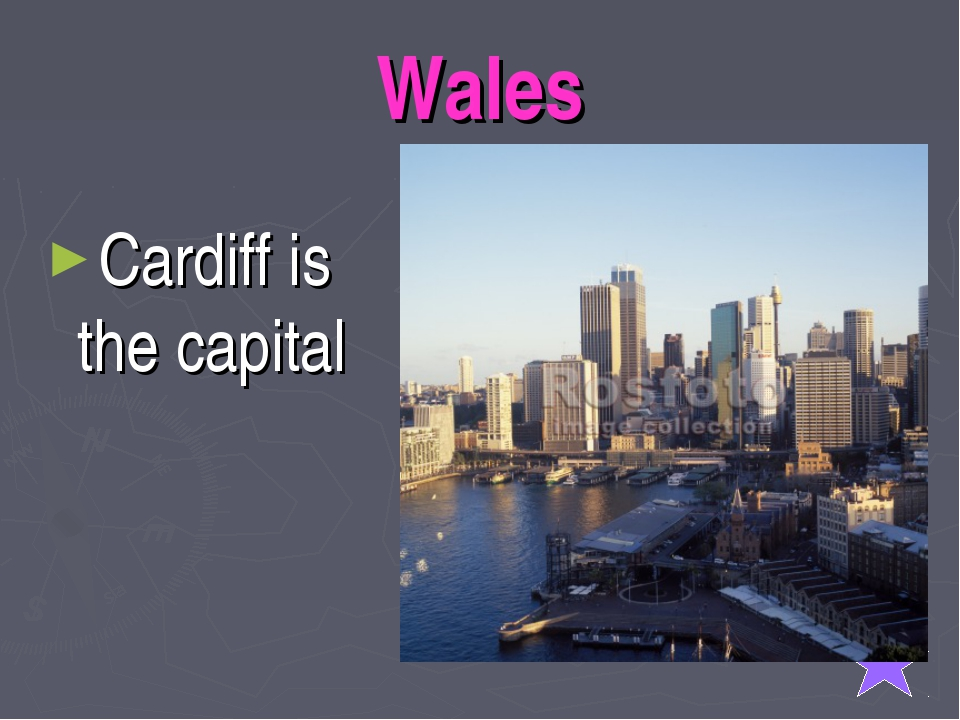 Wales Cardiff is the capital