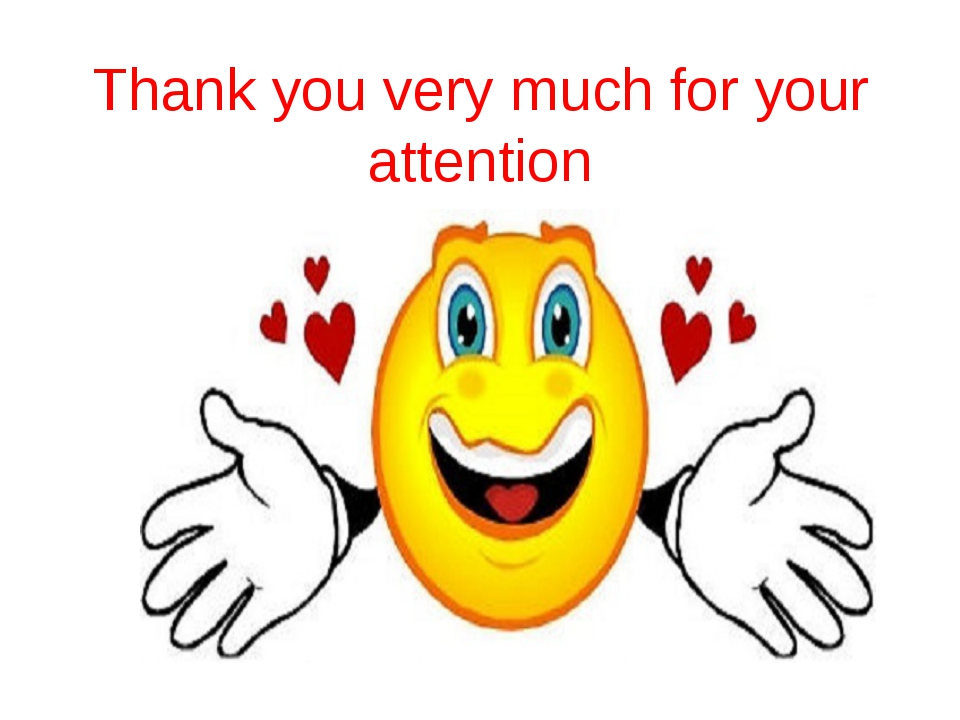 Thank you very much for your attention