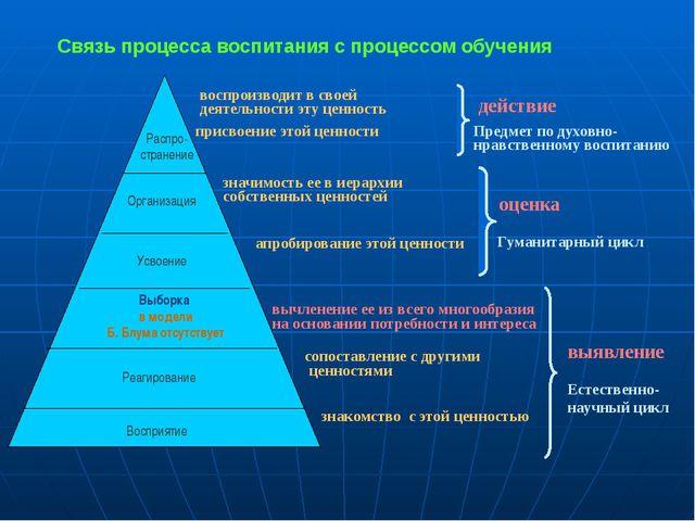 Распро- странение Организация Усвоение Реагирование Восприятие Выборка в мод...