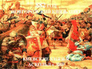 Киевляне хорошо знали, где были погребены Аскольд и Дир. На Аскольдовой могил