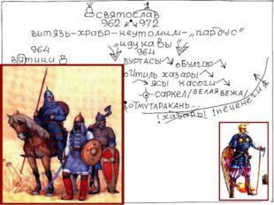 В 971 году Святослав встретился с войсками императора Цимисхия. После ряда вз