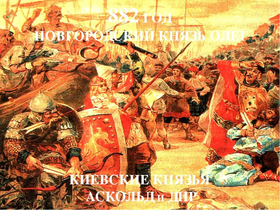 Киевляне хорошо знали, где были погребены Аскольд и Дир. На Аскольдовой могил...