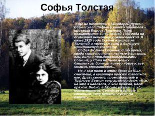Софья Толстая Еще не разведясь с Айседорой Дункан, Есенин увел Софью у своего