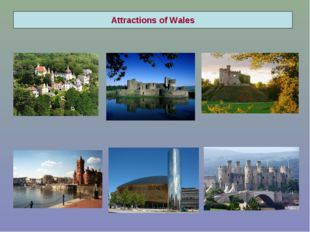Attractions of Wales